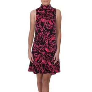 NWT Julie Brown Mock Neck Maxie Party Dress
